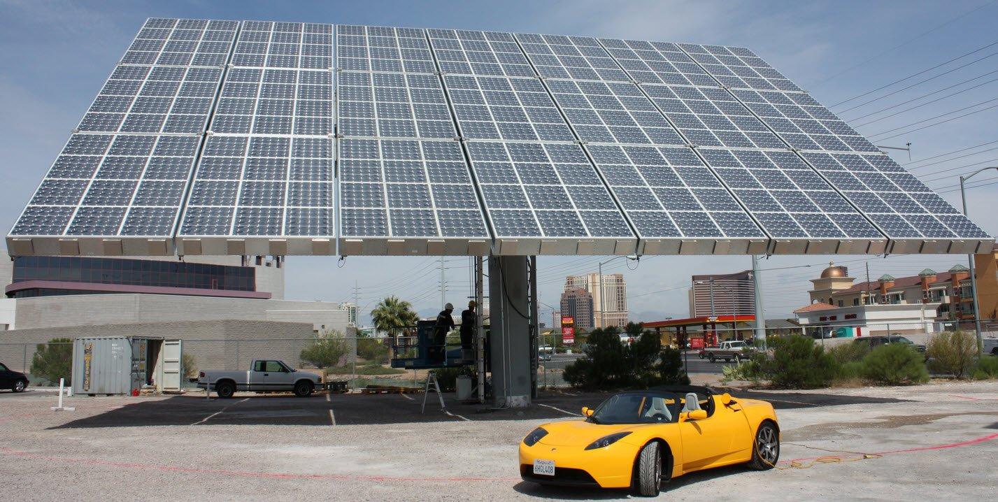 Eficiencia de un panel solar